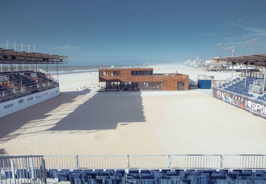 Prachtige evenementen bij The Hague Beach Stadium